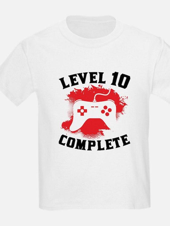 10th birthday 10th birthday t shirts shirts tees for Custom t shirts under 10