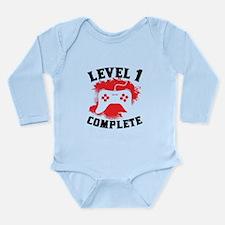 Level 1 Complete 1st Birthday Body Suit