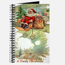 Christmas Santa Claus Blank Notebook Journal