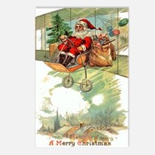 Christmas Santa Claus #19 Postcards 8pk