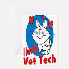 Vet Tech Greeting Cards