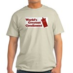 World's Greatest Condiment Light T-Shirt