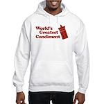 World's Greatest Condiment Hooded Sweatshirt