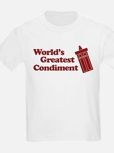 World's Greatest Condiment Kids T-Shirt