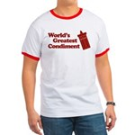 World's Greatest Condiment Ringer T
