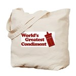 World's Greatest Condiment Tote Bag