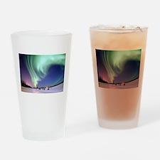 Aurora Borealis/ Northern Lights, B Drinking Glass