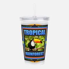Rainforest Acrylic Double-wall Tumbler