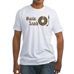 Music Snob Fitted T-Shirt