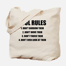 Tool Rules Tote Bag
