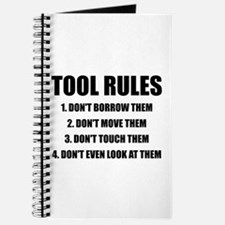 Tool Rules Journal