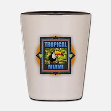 Miami Shot Glass