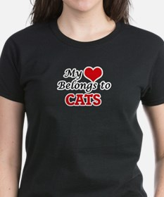 My heart belongs to Cats T-Shirt