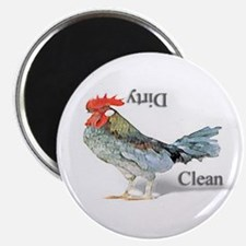 Chicken Country Dishwasher Magnet