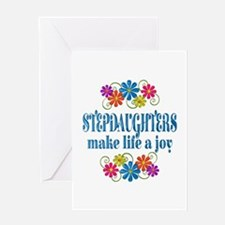 Stepdaughter Joy Greeting Card