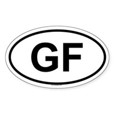 GF Oval Decal