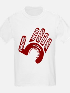 """Gunter Elite, The """"High Five"""" T-Shirt"""