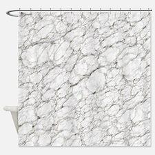 Marble Texture Art Shower Curtain