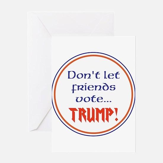 No Trump, Never Trump Greeting Cards