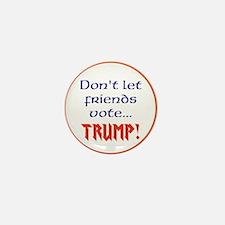 No Trump, Never Trump Mini Button