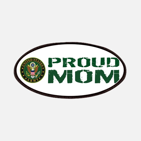 U.S. Army: Proud Mom (Green & White) Patch