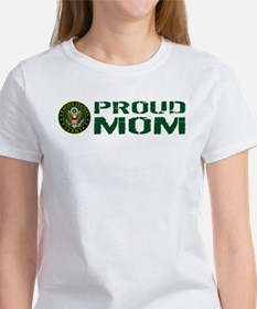U.S. Army: Proud Mom (Green) Women's T-Shirt