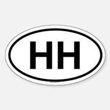HH Oval Decal