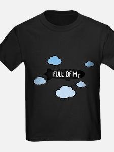 Hydrogen Blimp & Clouds T-Shirt