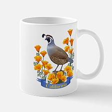 Unique California quail Mug