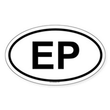 EP Oval Decal
