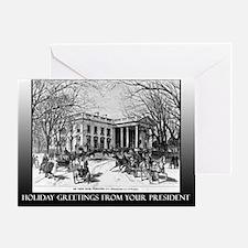 Miracles President Obama Holiday Greeting Card