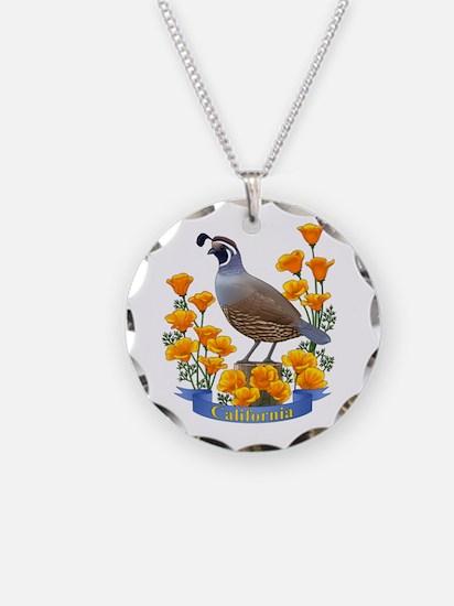 Cute Quail Necklace