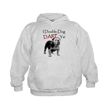 Double-Dog Dare! Kids Hoodie