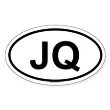 JQ Oval Decal