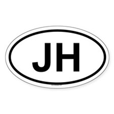 JH Oval Decal