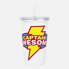 captawesome.png Acrylic Double-wall Tumbler