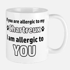 Allergic To My Chartreux I Am Allergic Small Small Mug