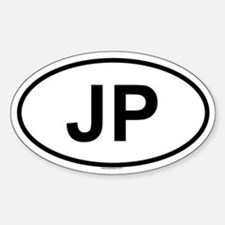 JP Oval Decal