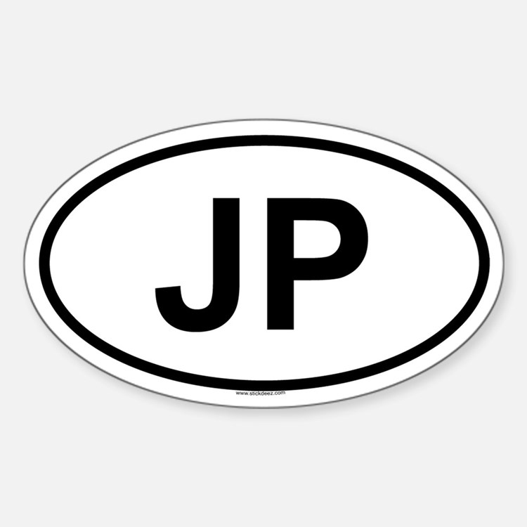 Jp Stickers Jp Sticker Designs Label Stickers Cafepress