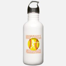 Softball Grandma - Batter Water Bottle