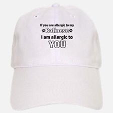 Allergic To My balinese I Am Allergic To You Baseball Baseball Cap