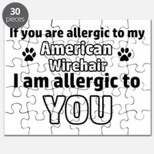 Allergic To My american wirehair shorthair Puzzle
