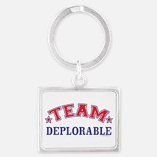 Team Deplorable ANTI HILLARY Keychains