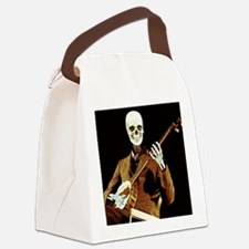 Ghost Banjo Canvas Lunch Bag