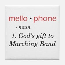 Definition of Mellophone Tile Coaster