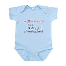 Definition of Mellophone Infant Bodysuit