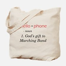 Definition of Mellophone Tote Bag