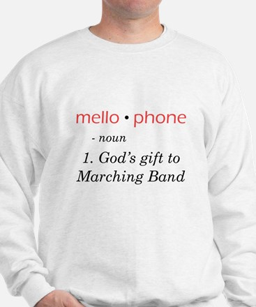 Definition of Mellophone Sweatshirt