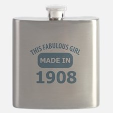 This Fabulous Girl Made In 1908 Flask