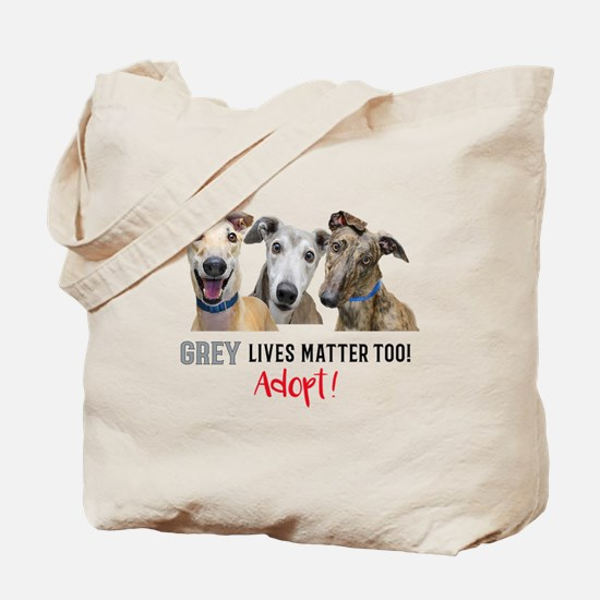 Cute Greyhound Tote Bag